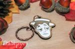 Buster Keaton keychain by Moonyzier