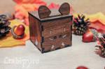 Little Boar hardboard box