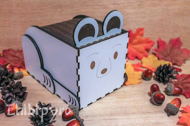 Polar Bear gift box by ChibiPyro