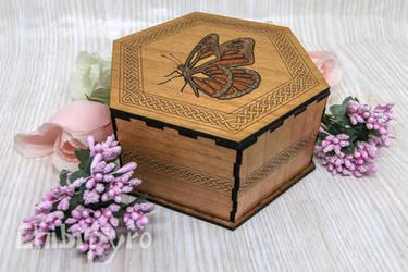 Butterfly Celtic Zodiac Box by ChibiPyro