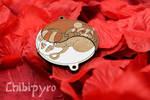 Custom Pandas Yin Yang Charms by Moonyzier