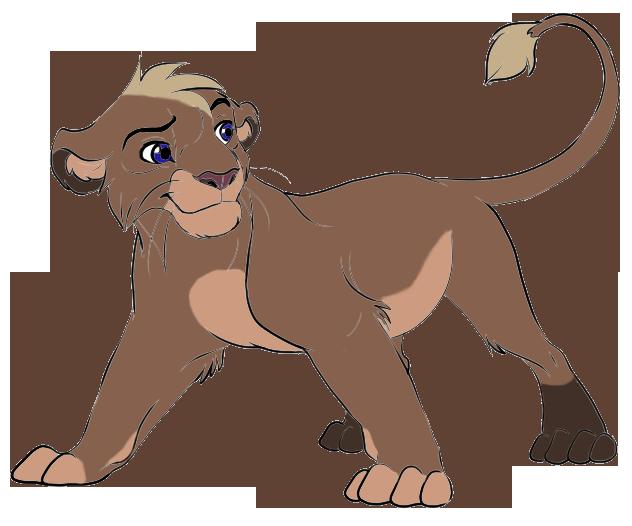 Meeku - The Lion King OC by Haiwan-Demor