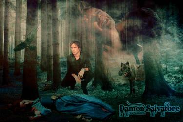 Damon Salvatore Blend by Krisztina0909