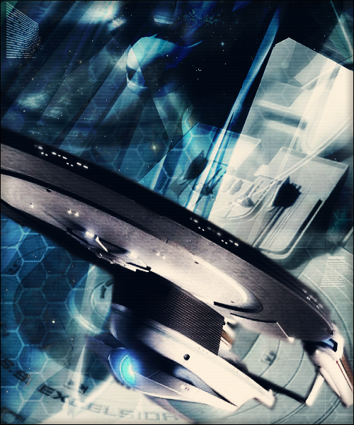 USS Excelsior by wild-kard2003