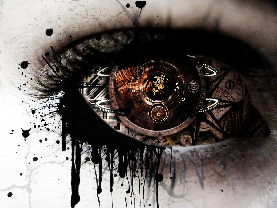steampunk wallpaper eye - photo #10