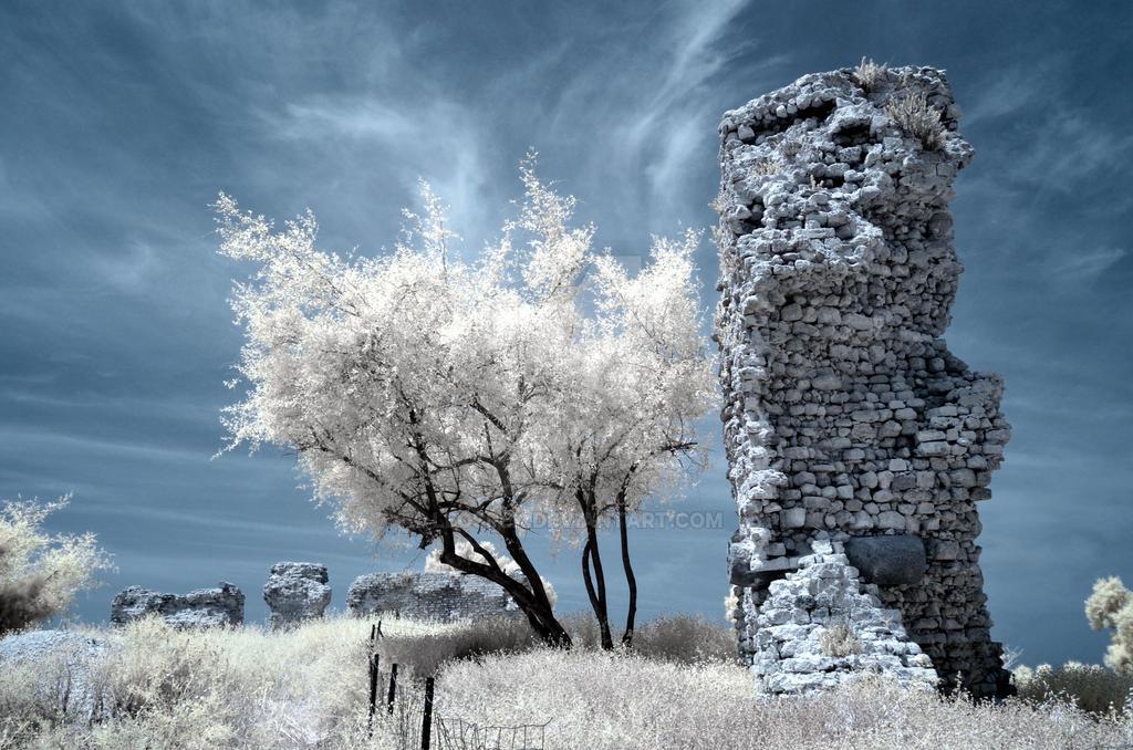 Ruins of ancient Ashkelon. by leospek
