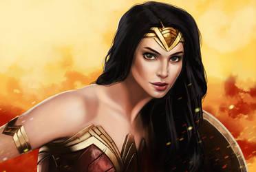 Alyson Tabbitha / Wonder Woman Fan Art