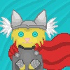 Kitty Thor by dragons011