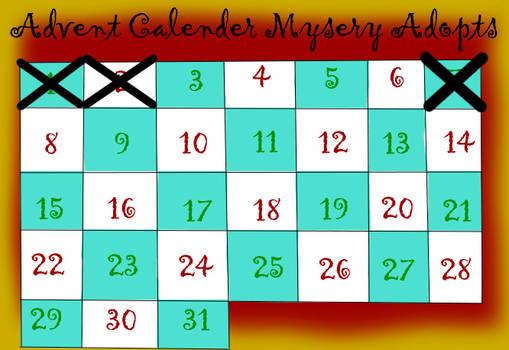 Advent Calendar Mystery Adopts