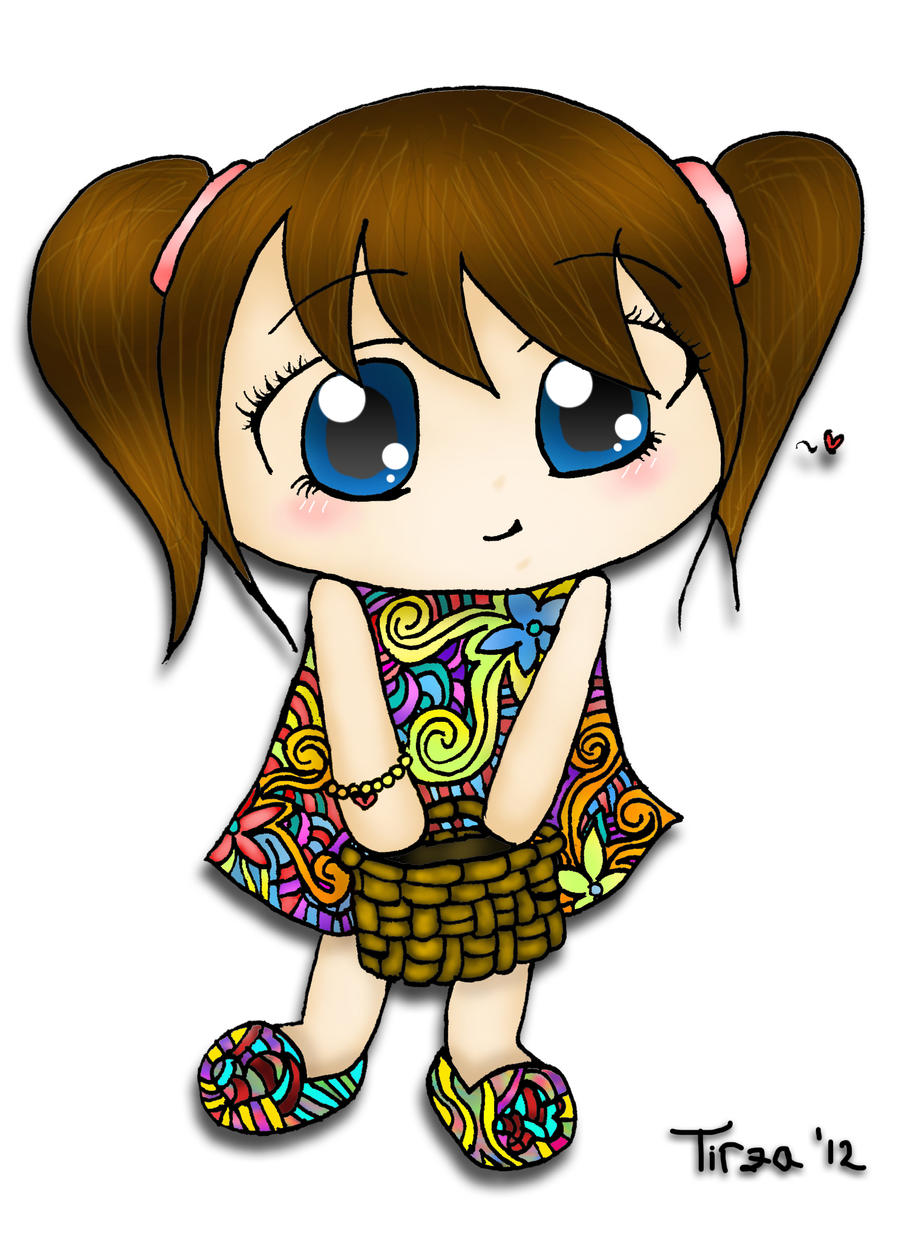 Little Girl (color) by tirza1301 on DeviantArt