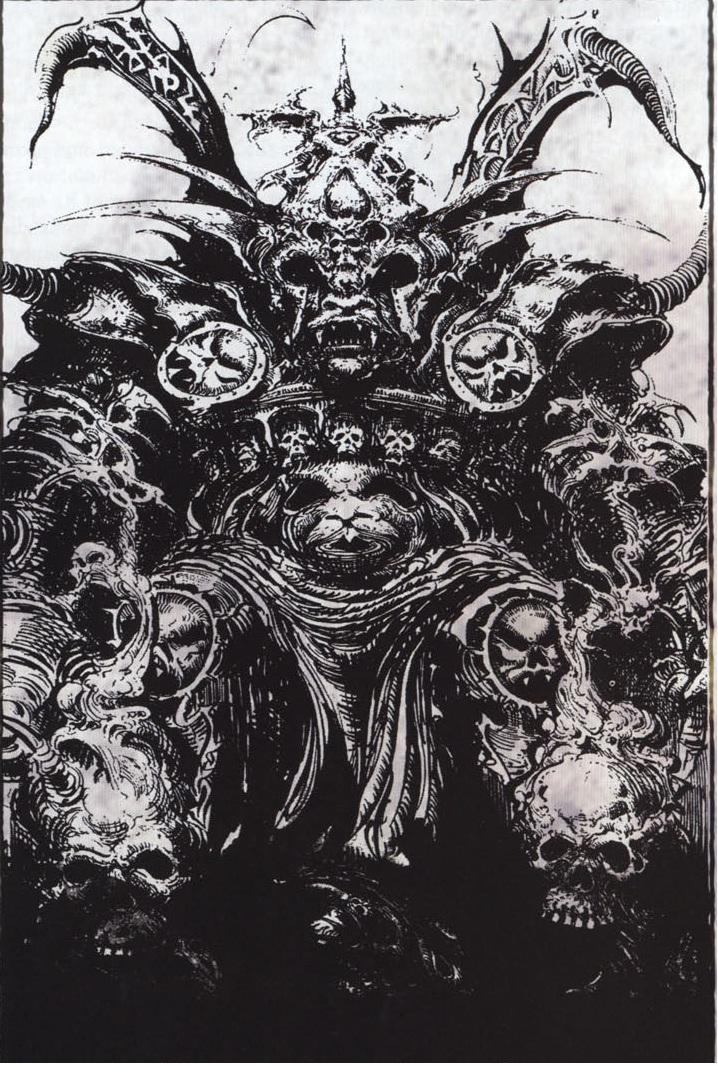 Chaos God Khorne by DarkCrusader40 on deviantART
