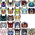 [Pixel] 25x25 Nybs by AnimalBag