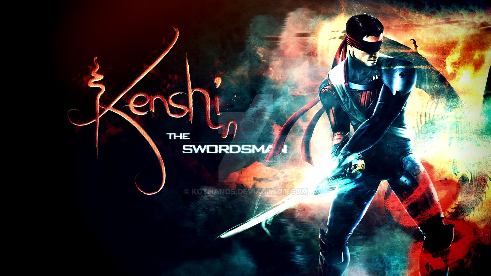 Kenshi the Swordsman - Mortal Kombat - Fan Art by Kothanos