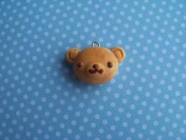 Teddy bear bun by CuteTanpopo