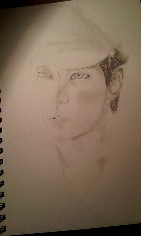 unfinished portrait of T.O.P by Jayyvon