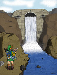 Legend Of Zelda: Quest for Calatia - Truce Dam by MikePouch