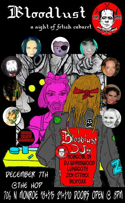 BloodLust 3: A Night of Fetish Cabaret by ChainsawComics