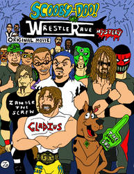 Scooby Doo/S.A.W. WrestleRave Mystery