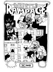 Wrestle Rampage b/w