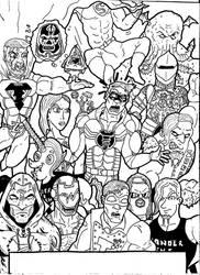 Wrestle CRISIS wraparound pt2
