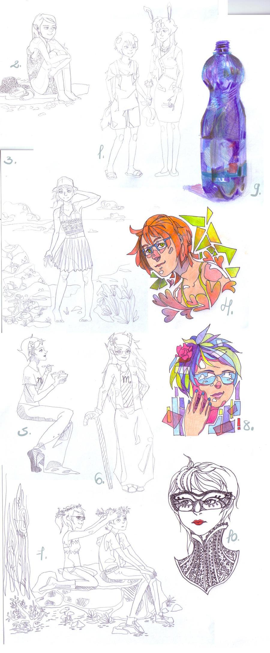 italian sketch dump by MeelaDot