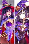 Genshin Impact Mona Cosplay By Anayami