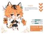 [closed flatsale] tiger