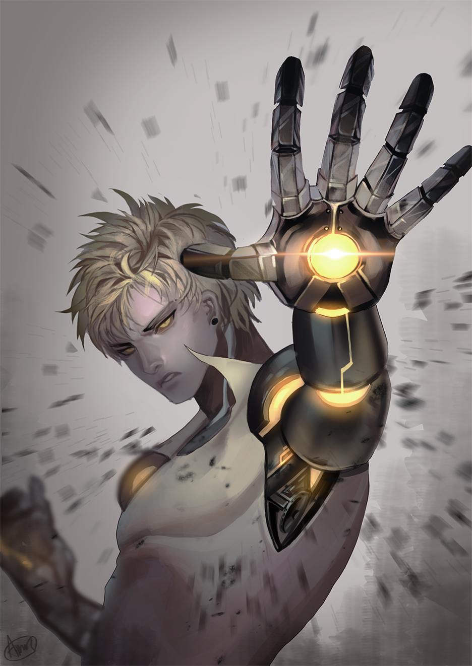 one punch man genos - photo #32