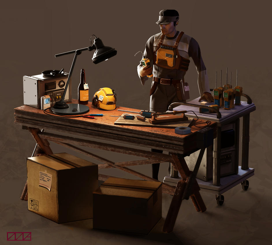 Repairman by Oktargai