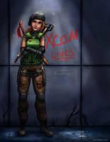 XCOM Lives by ADKKitty