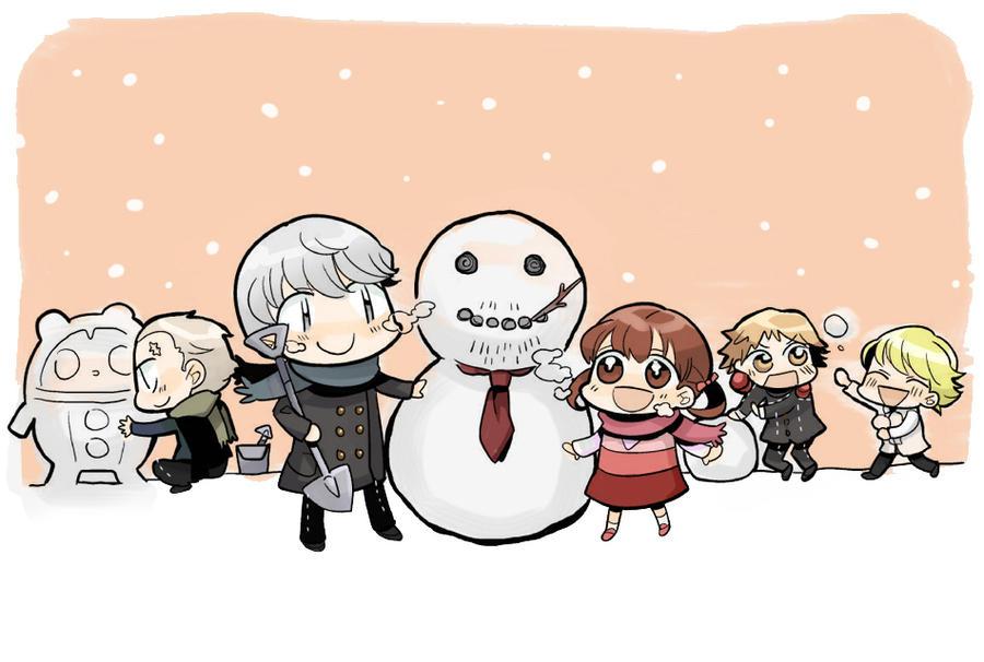 snowman by tantanmen
