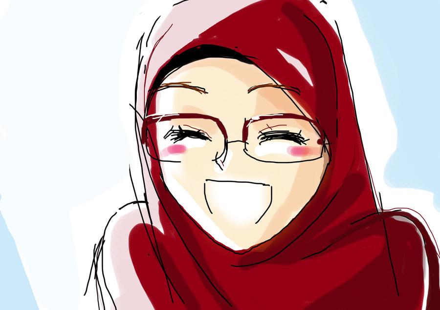 Foto Anime Muslimah Cantik