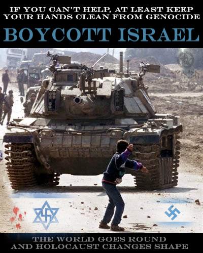 Boycott Israel by LonelyBard