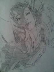 Supergirl Pop Art Pencil