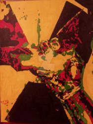 Batman Beyond #6 Cover(Pop Art)
