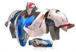 Transformers Prime (TFP) Smokescreen