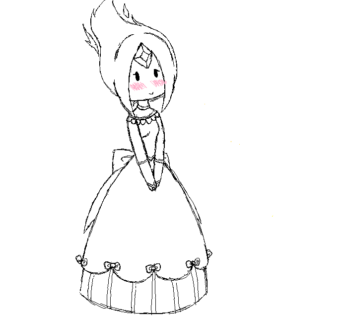 flame princess coloring pages anime - photo#22