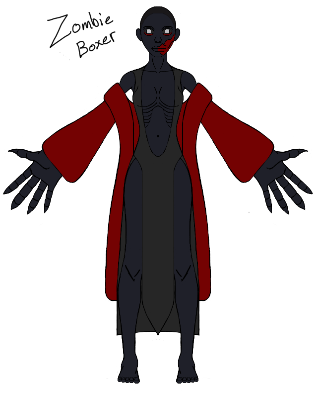 Graveyard - Zombie Boxer Update by Terran8793
