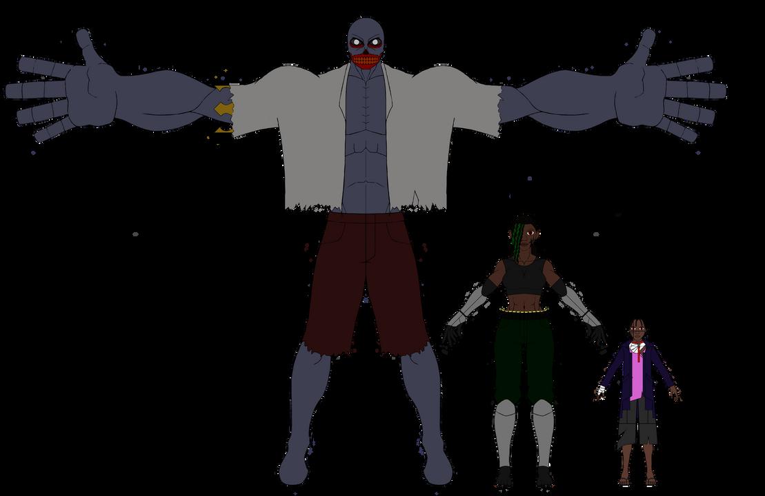 Graveyard - Height Comparison by Terran8793