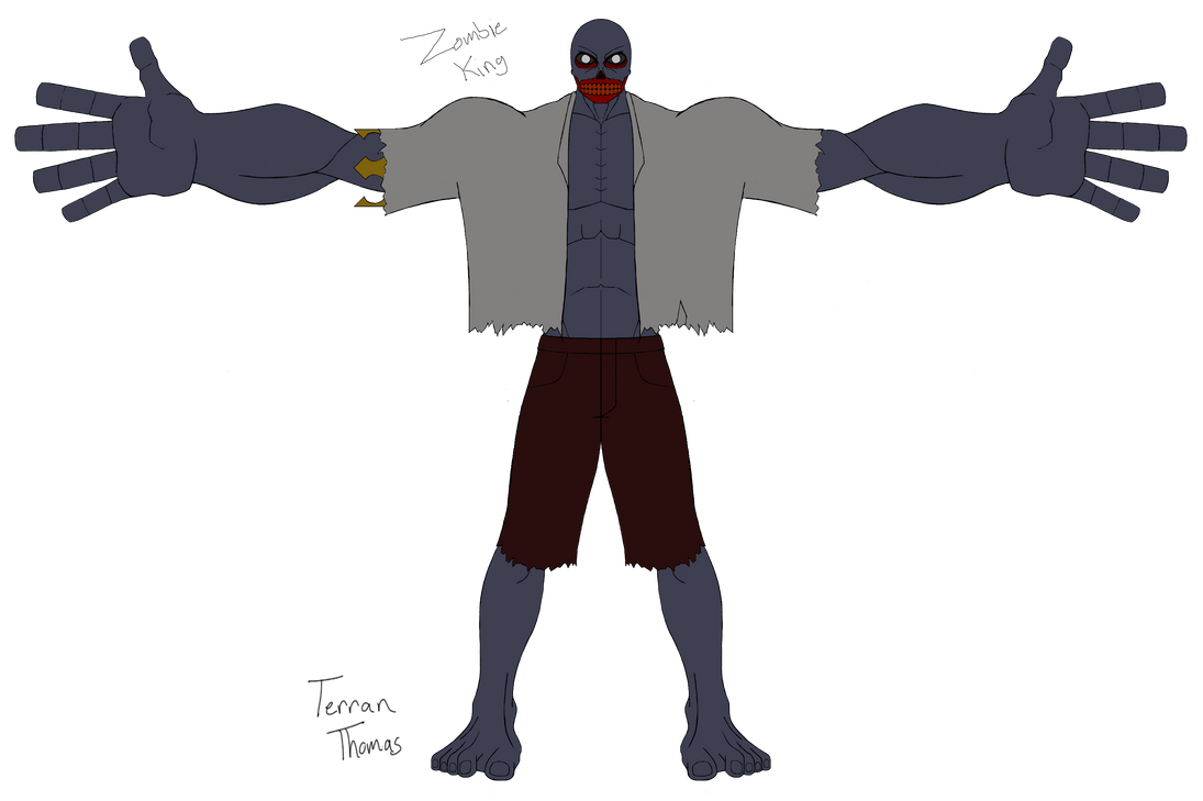 Graveyard - Zombie King Update by Terran8793