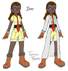 Izzy - First Concept