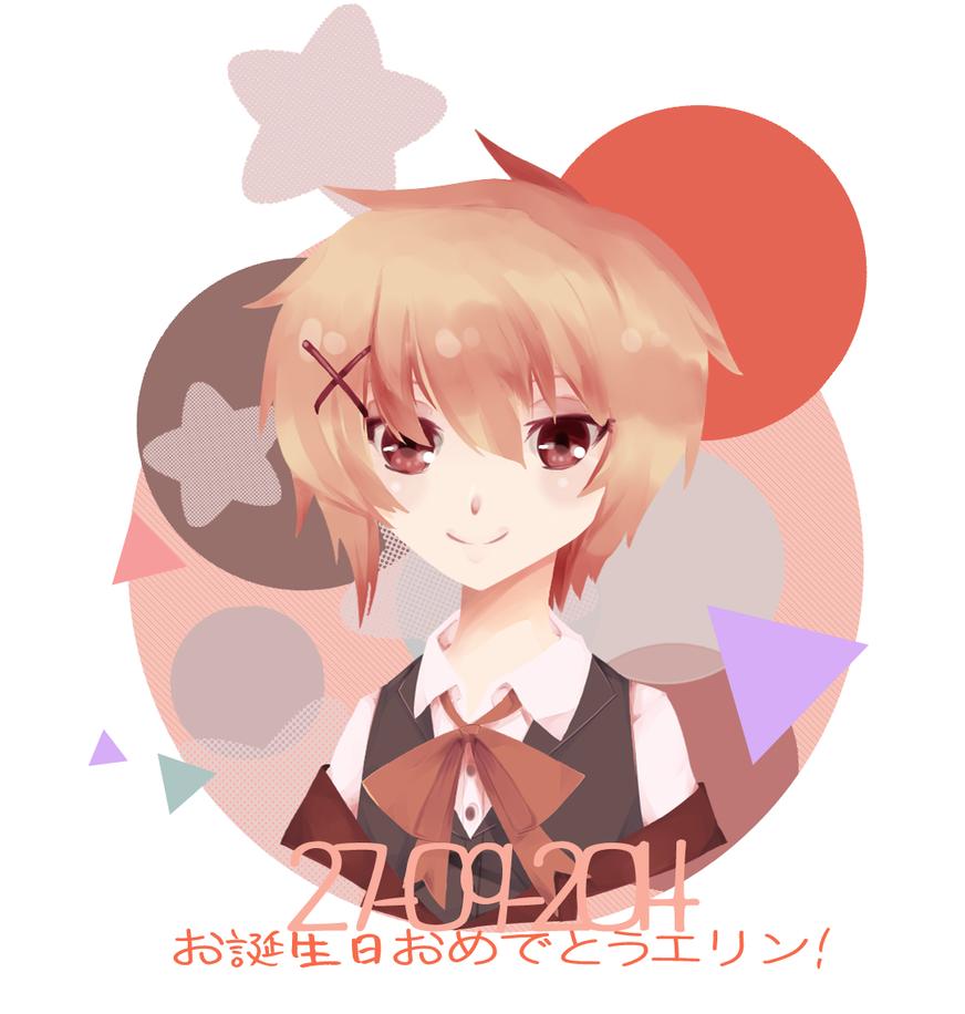 Happy Birthday Relxion! by YugureAkas
