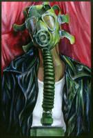 Gas Mask Mona by mtucker