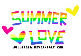 Summer Love PNG by JuuustGPB