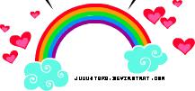 Rainbow PNG by JuuustGPB
