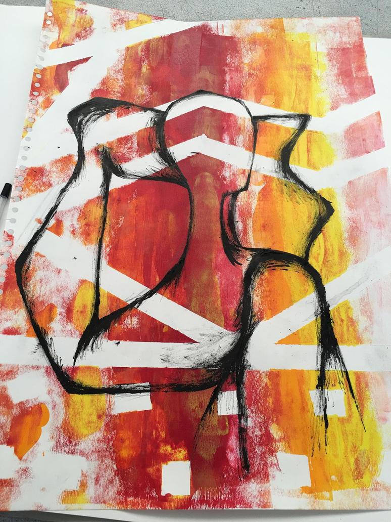 Art experiment  by ArtsFatima