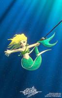 Reimagination - Hooked Mermaid