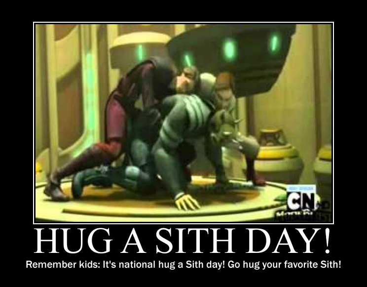 Hug A Sith Day by lizcat14