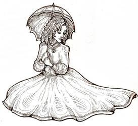 Southern Belle by zenobia