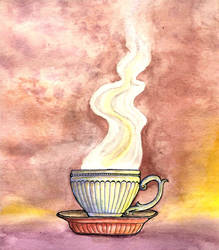 Teacup by zenobia